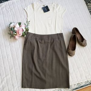 Classic Pencil Skirt Fully-Lined - Mexx